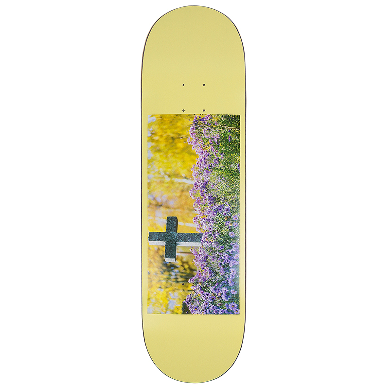 Hymn Solo Cross  Skateboard Deck 7.875
