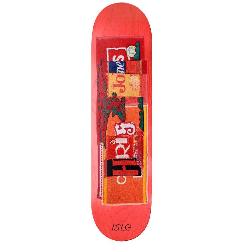 Isle Chris Jones Pub Series Skateboard Deck 8.375