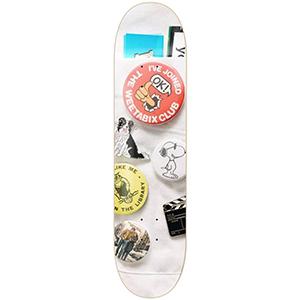 Isle Enamel Jacob Harris Guest Skateboard Deck 8.375