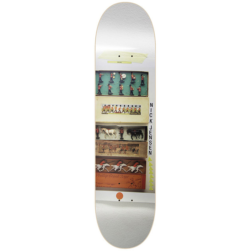 Isle Jensen Antiquities Skateboard Deck 8.0