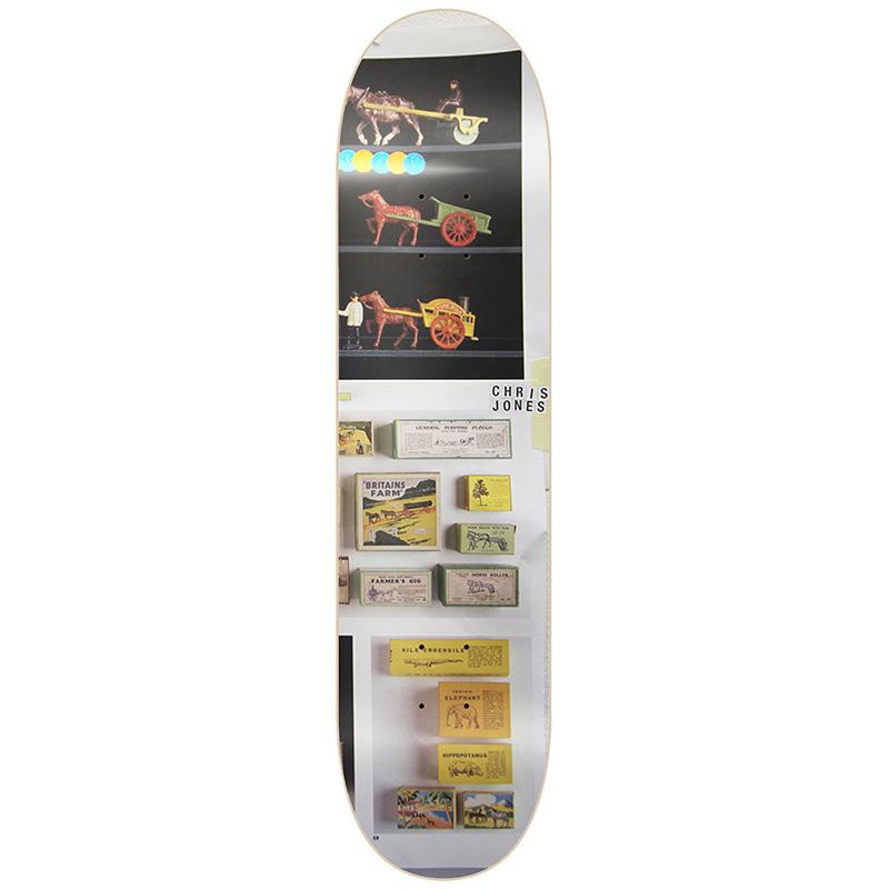 Isle Jones Antiquities Skateboard Deck 8.375