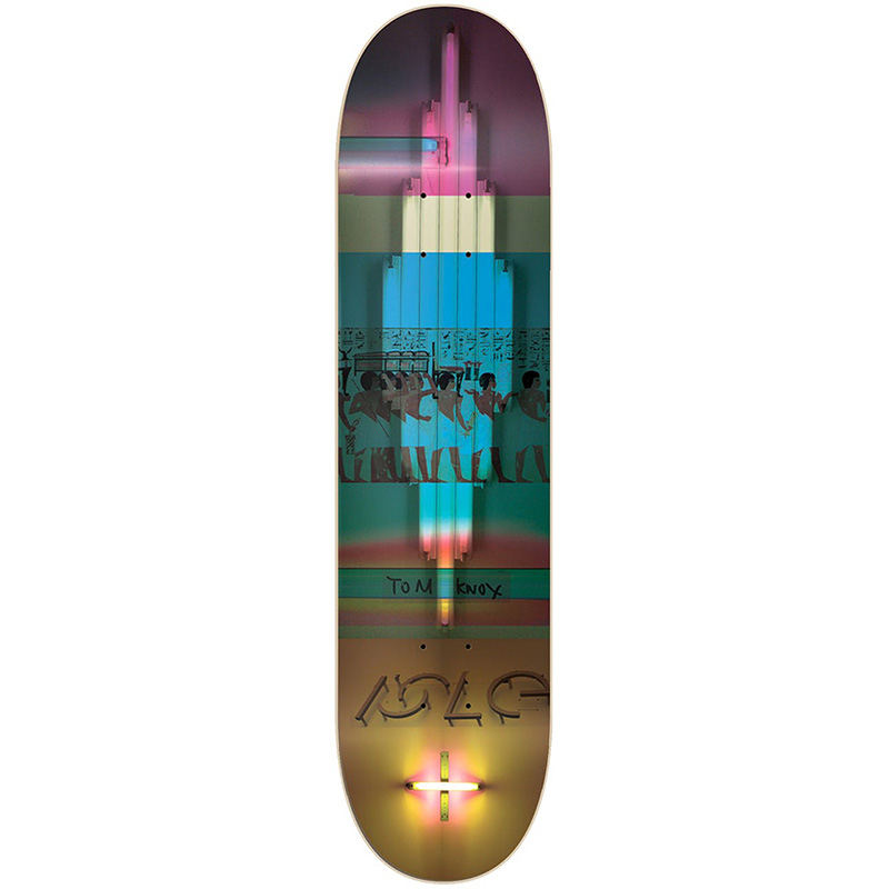 Isle Knox Alpha Process Skateboard Deck 8.125