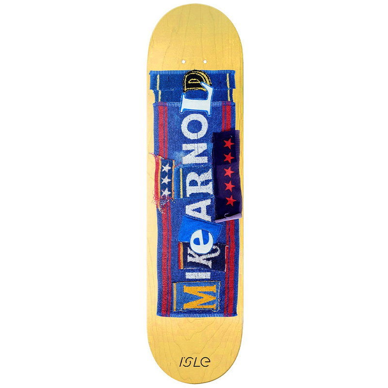 Isle Mike Arnold Pub Series Skateboard Deck 8.5