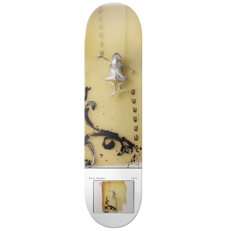 Isle Nick Jensen Milo Brennan Artist Series Skateboard Deck 8.125