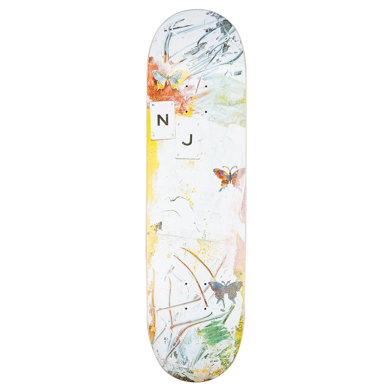 Isle Paint & Pigment Nick Jensen Skateboard Deck 8.5