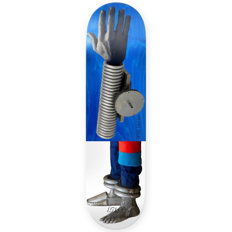 Isle Remy Taveira Artist Series Skateboard Deck 8.375
