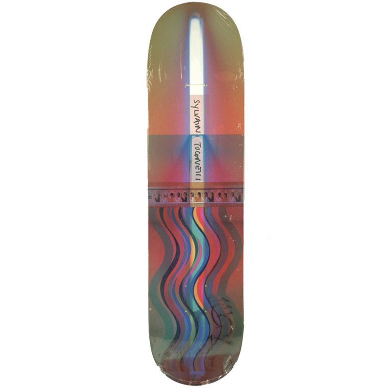 Isle Sylvain Alpha Process Skateboard Deck 8.0
