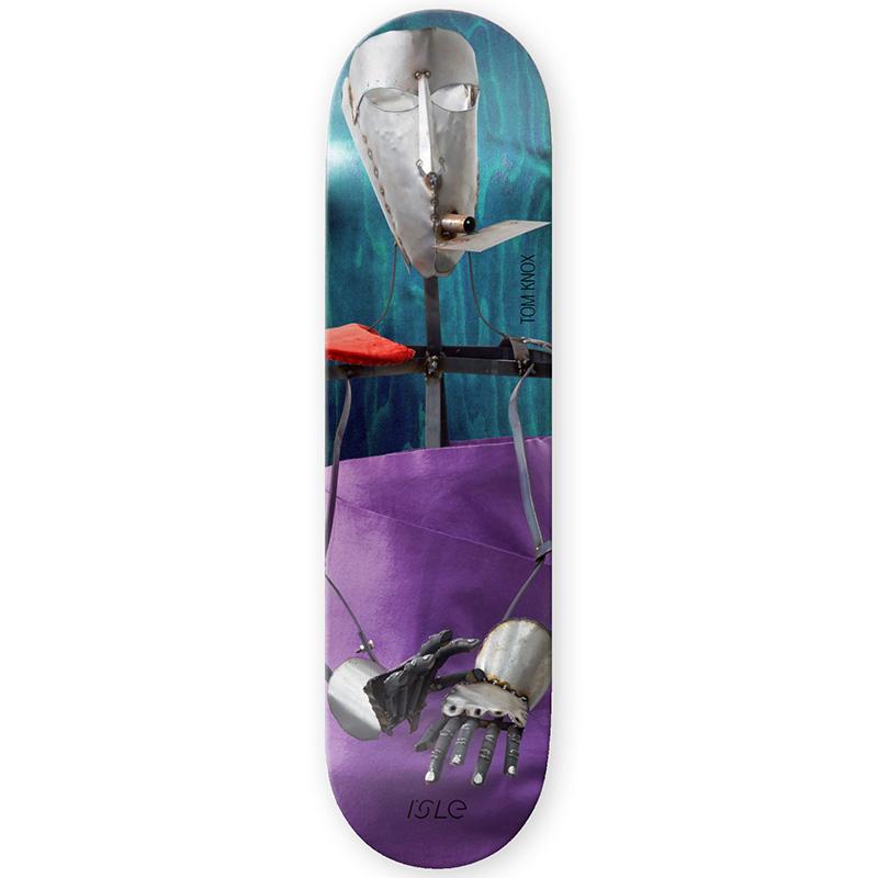 Isle Tom Knox Artist Series Skateboard Deck 8.375