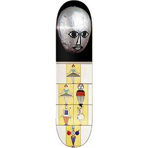 Isle Triadic Arnold Skateboard Deck 8.5