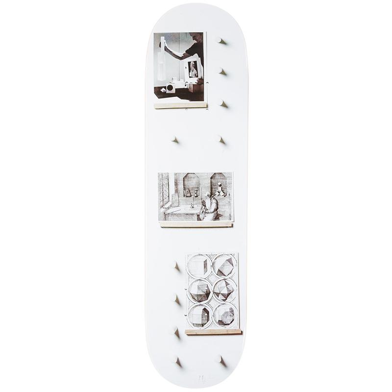 Isle x Carhartt Krystallstructur no2 Skateboard Deck 8.38