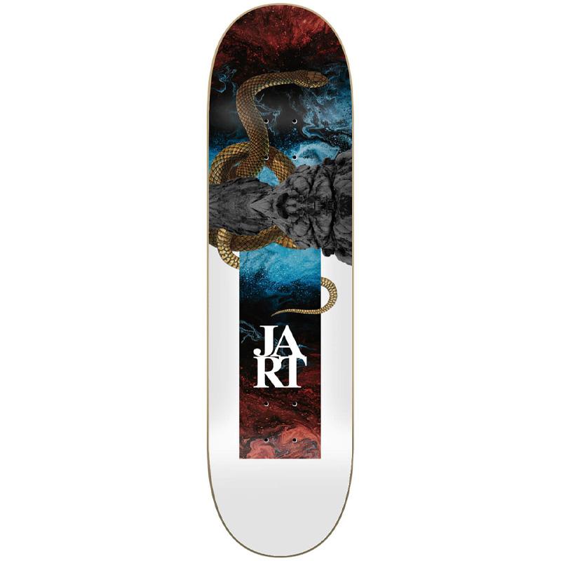 Jart Abstraction High Concave Skateboard Deck 8.25
