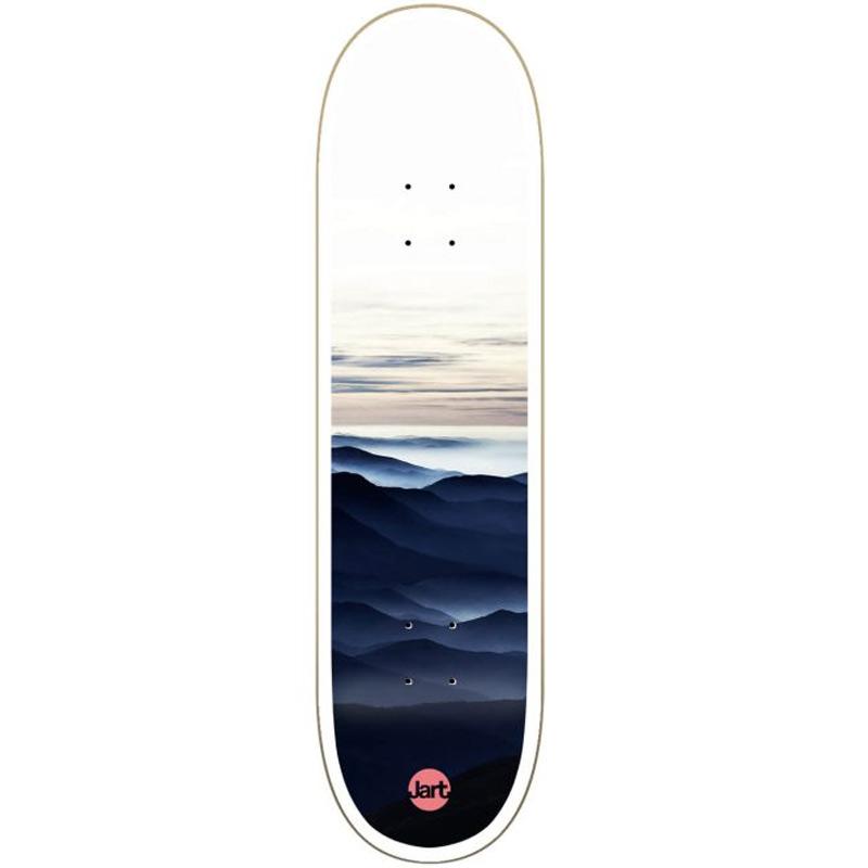 Jart Foggy High Concave Skateboard Deck 8.25