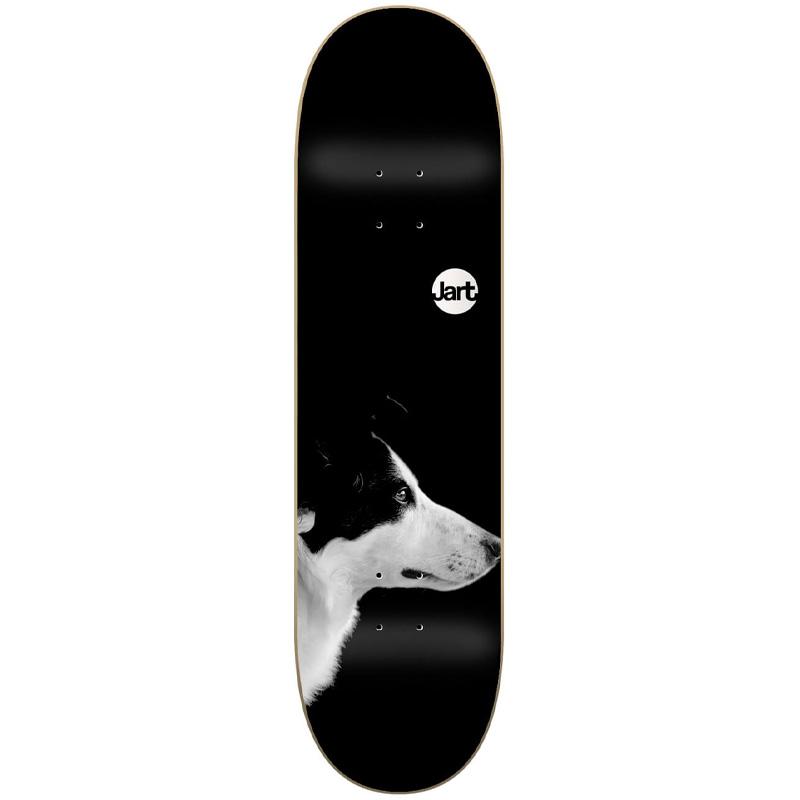 Jart Friends Low Concave Skateboard Deck Black 8.0