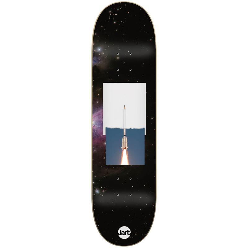 Jart Mixed Low Concave Skateboard Deck 8.25