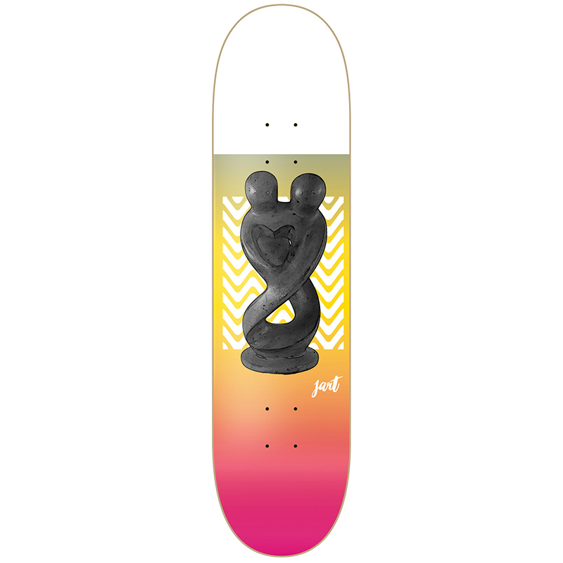 Jart Museum Skateboard Deck 7.87