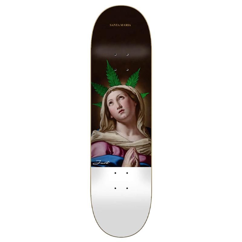 Jart Renaissance II Santa Maria High Concave Skateboard Deck 8.25