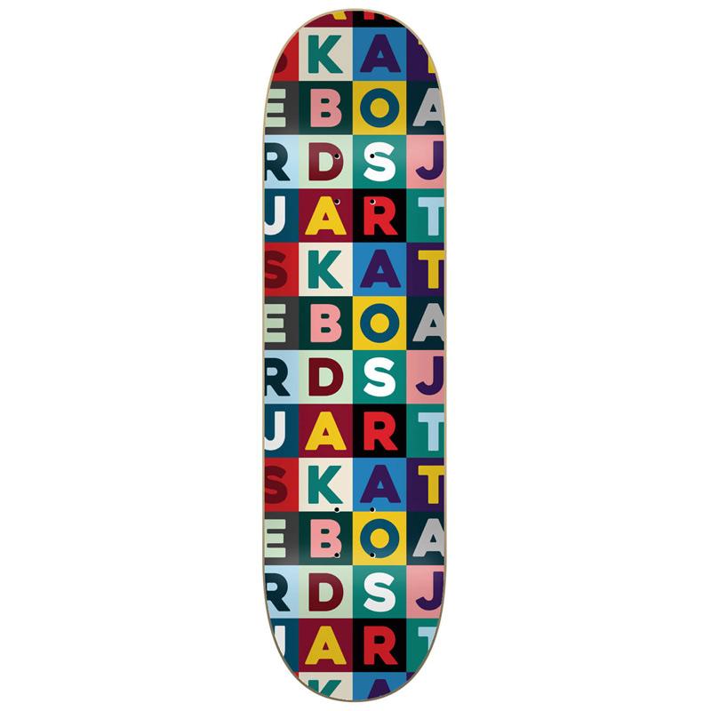 Jart Scrabble High Concave Skateboard Deck 8.0