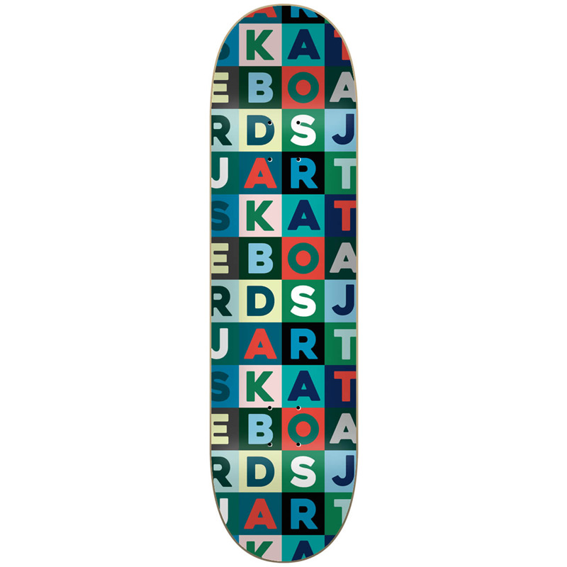 Jart Scrabble High Concave Skateboard Deck 8.25