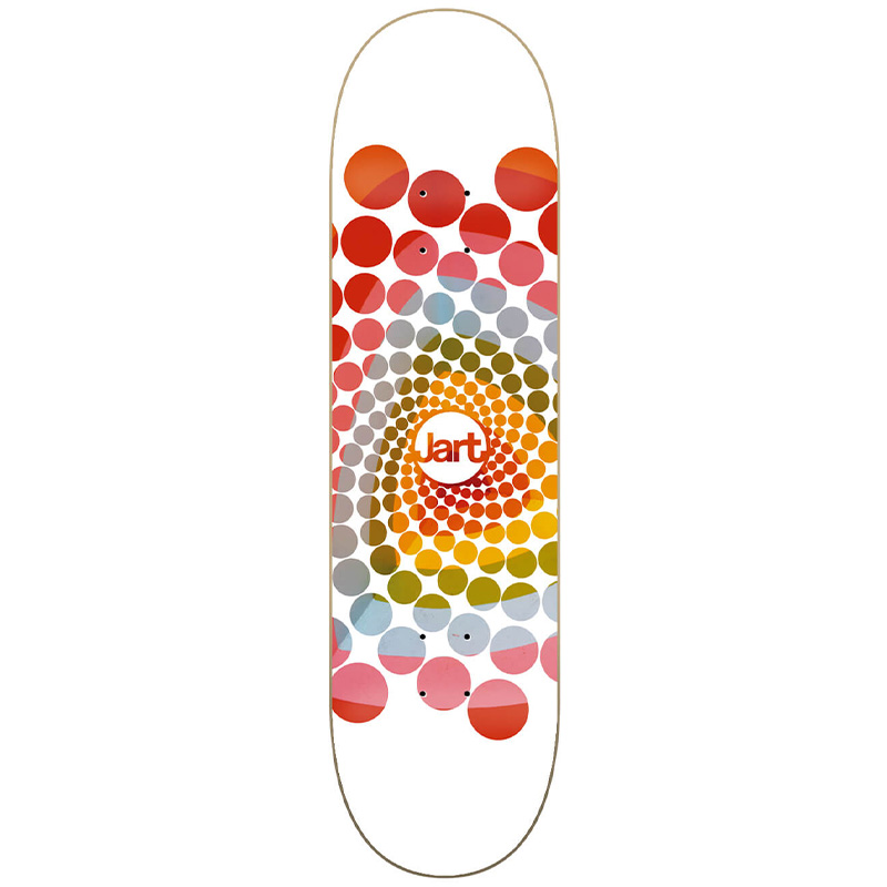 Jart Spiral High Concave Skateboard Deck 8.0