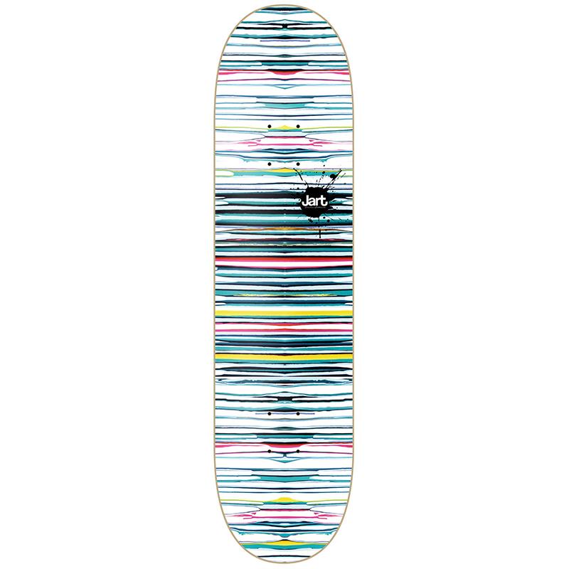 Jart Splatter Skateboard Deck 8.0