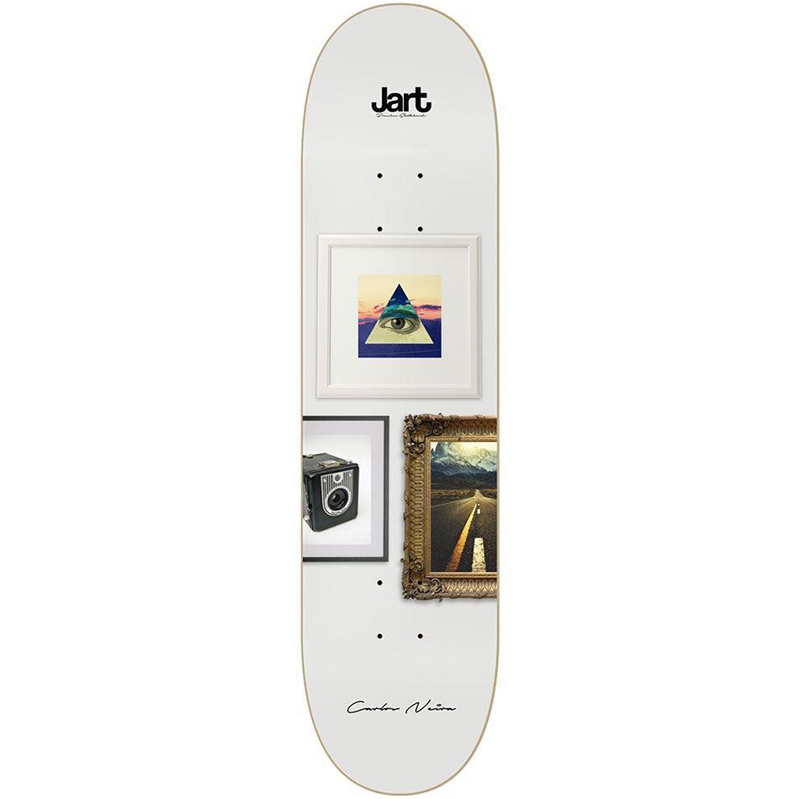 Jart Wall Carlos Neira Skateboard Deck 8.375