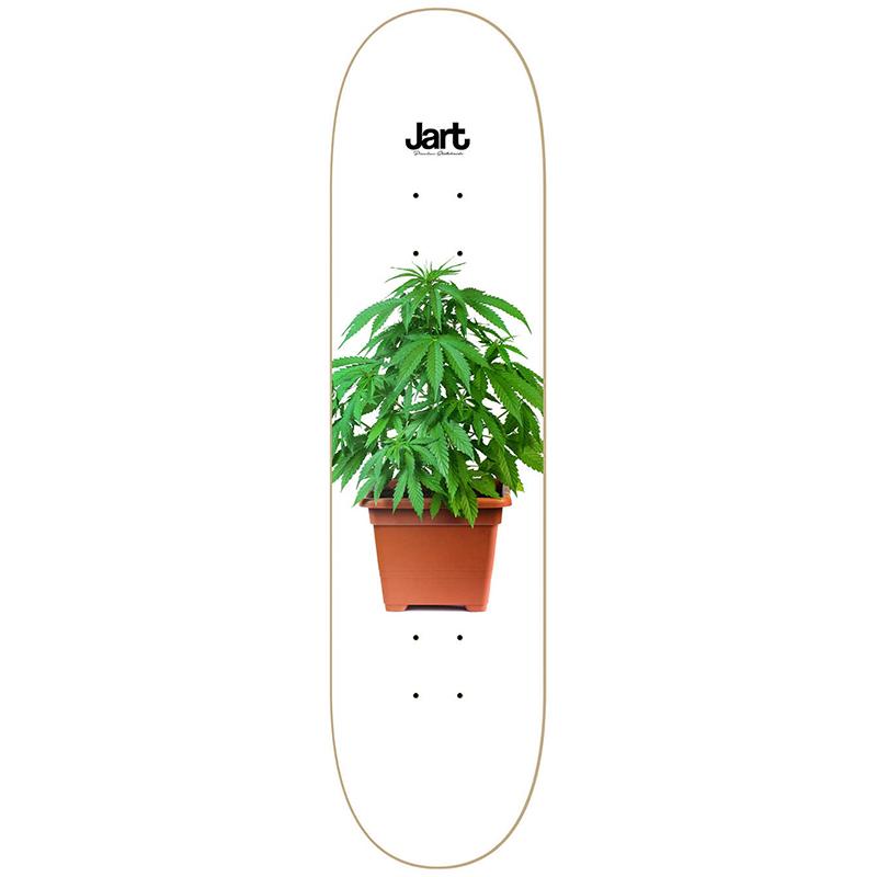 Jart Weed Skateboard Deck MPC 8.25