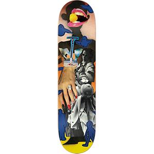Krooked Anderson Collage Skateboard Deck 8.18