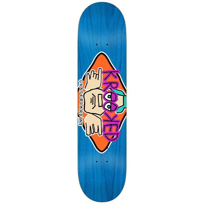 Krooked Arketype Skateboard Deck 7.75