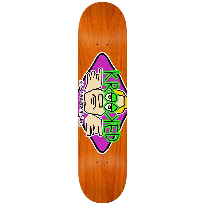 Krooked Arketype Skateboard Deck 8.25