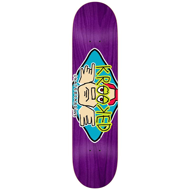 Krooked Arketype Skateboard Deck 8.5
