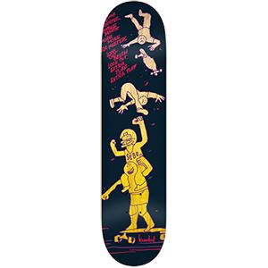 Krooked Bird Sebo Meeters Skateboard Deck 8.25