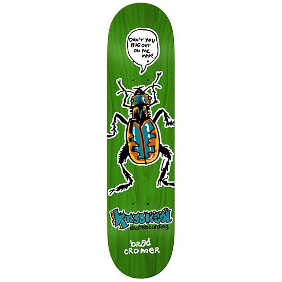 Krooked Cromer Bug Out Skateboard Deck 8.38