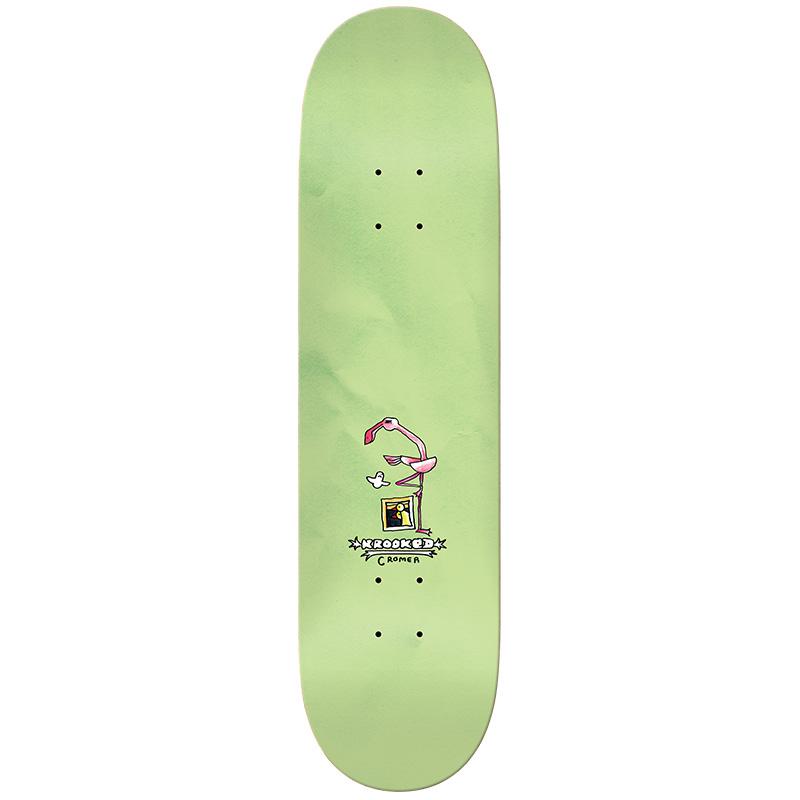 Krooked Cromer Flamingo Skateboard Deck 8.38