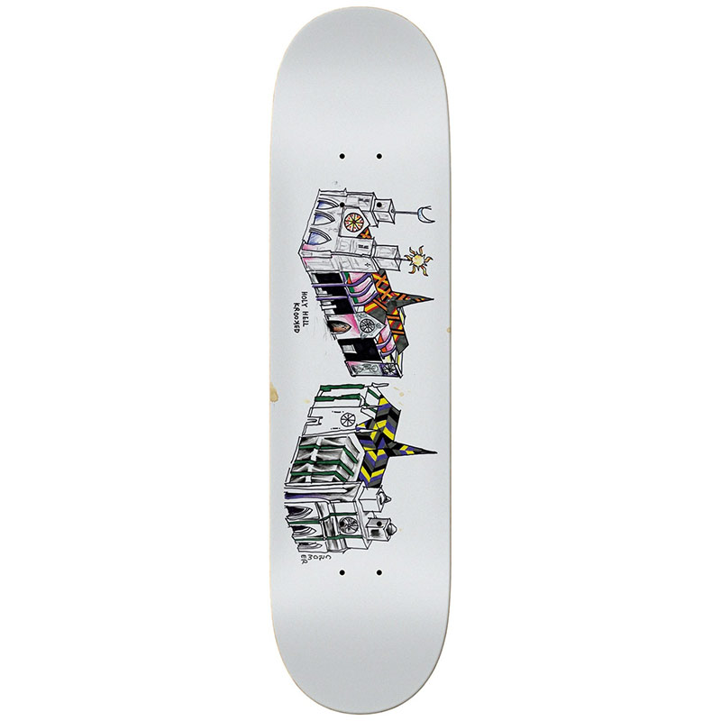 Krooked Cromer Holy Hell Full Shape Skateboard Deck 8.06