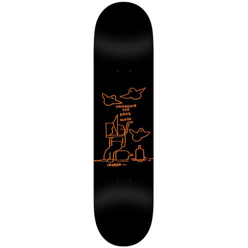 Krooked Cromer Patchance Skateboard Deck 8.25