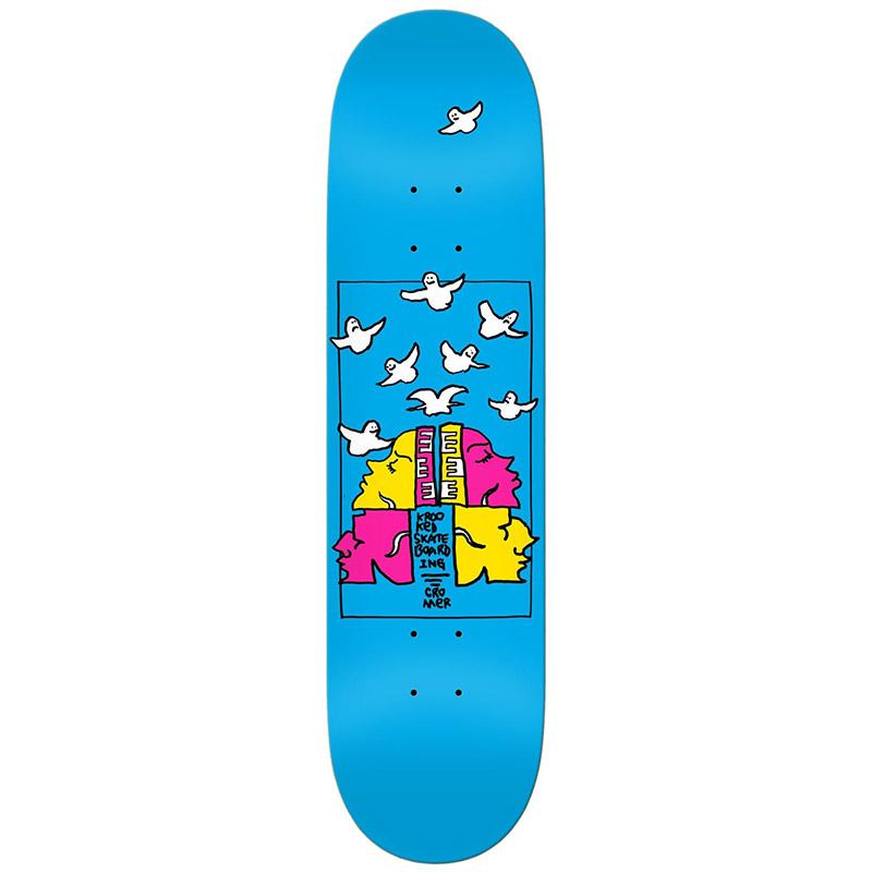 Krooked Cromer Qwuatro Skateboard Deck 8.06