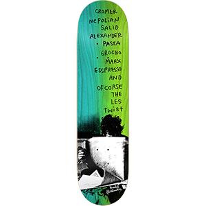 Krooked Cromer Zirox Poem Skateboard Deck 8.18