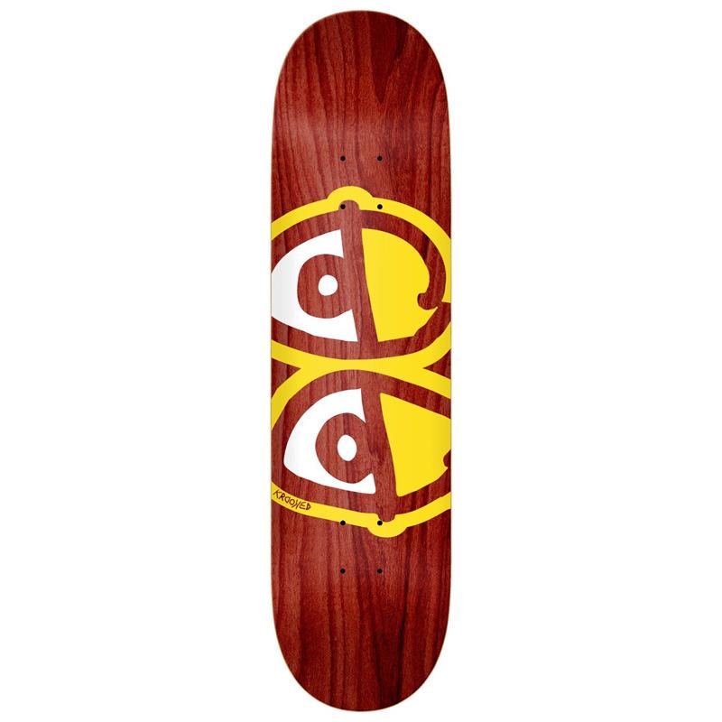 Krooked Eyes Skateboard Deck Assorted Veneers 8.06