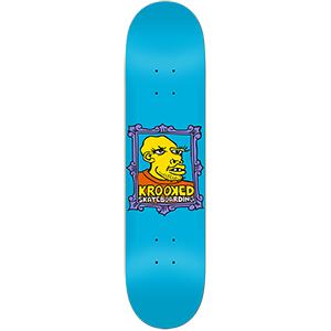 Krooked Frame Face Skateboard Deck 8.38