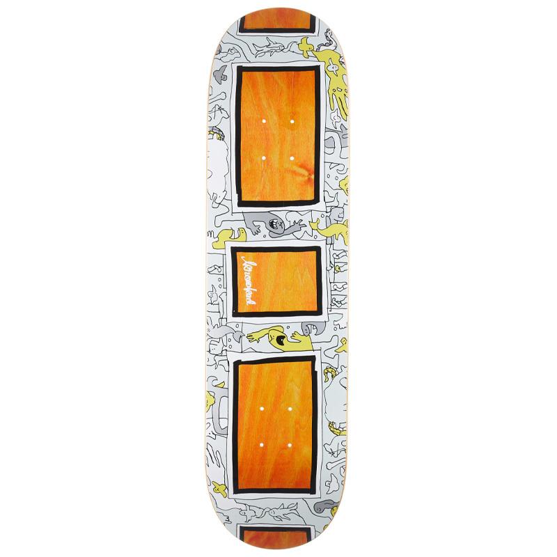 Krooked Frame Up Skateboard Deck Assorted Veneer 8.25
