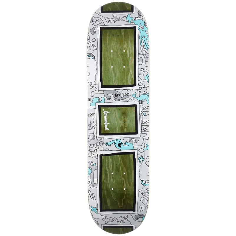 Krooked Frame Up Skateboard Deck Assorted Veneer 8.5