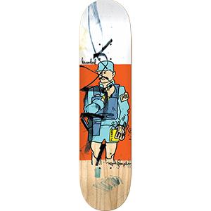 Krooked Gonz Coppa Skateboard Deck 8.38