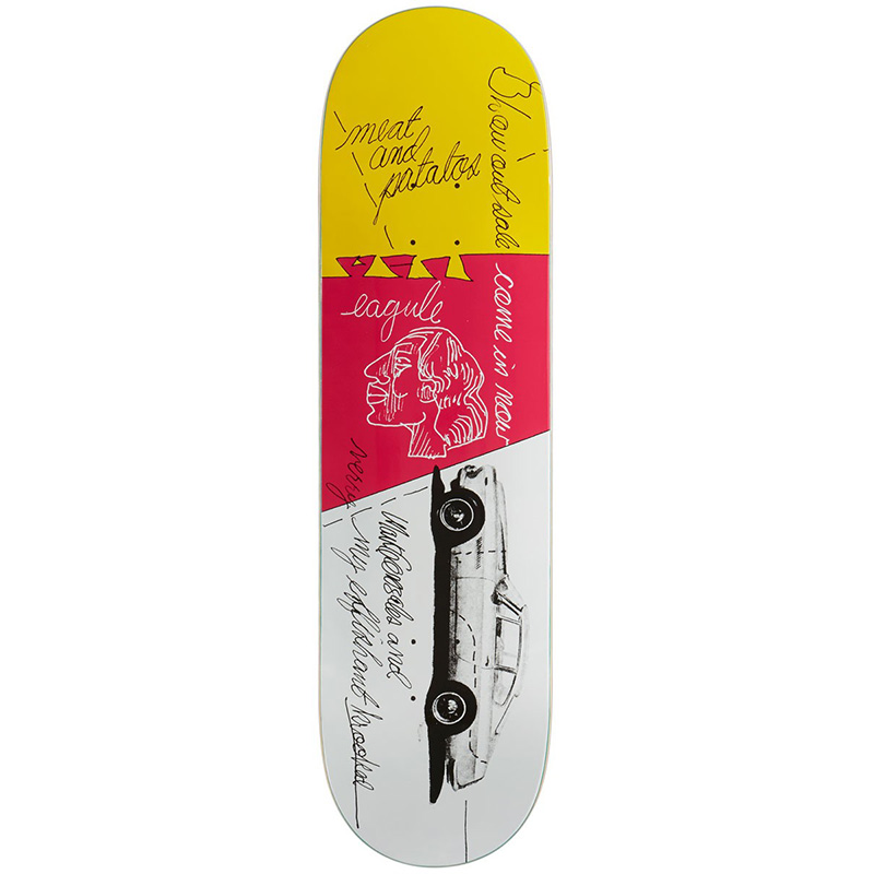 Krooked Gonz Effishant Skateboard Deck 8.62