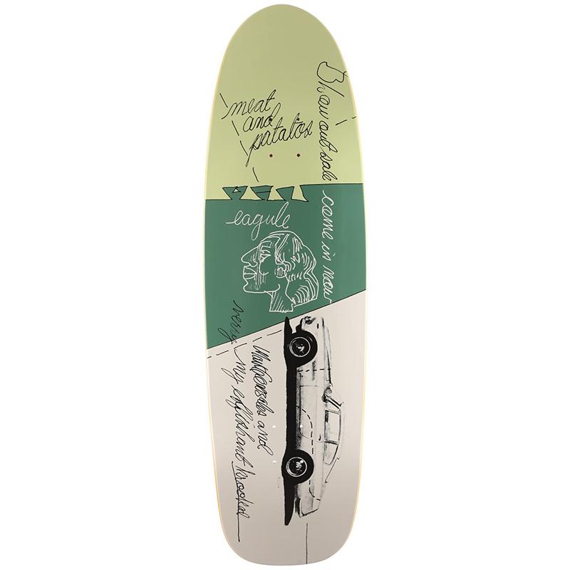 Krooked Gonz Effishant Skateboard Deck 9.87