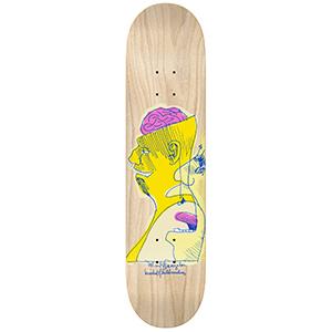 Krooked Gonz Konsious Skateboard Deck 8.18