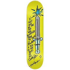 Krooked Gonz Pen Mighty Skateboard Deck 8.06