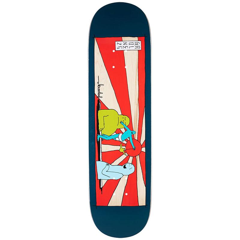 Krooked Gonz Rising Son Skateboard Deck 8.38