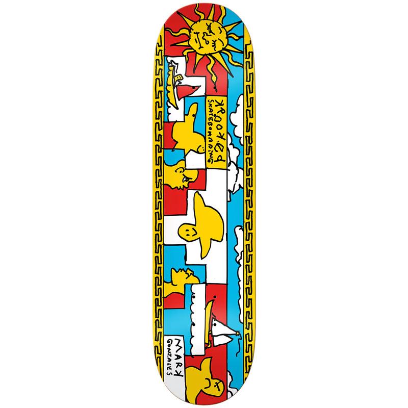 Krooked Gonz Sails Skateboard Deck 8.38