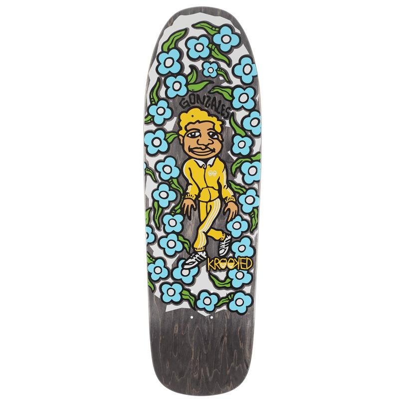 Krooked Gonz Sweatpants Skateboard Deck 9.8