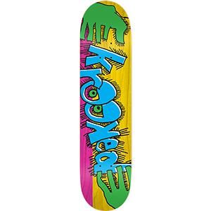 Krooked Hulk Hands Skateboard Deck 8.38